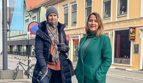 VIL HA SVAR: Forberg Andersen og Schulstok.