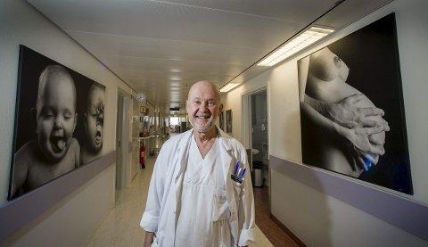 Gynekolog: I utgangspunktet hadde ikke Carl-Gustav Mählck noe ønske om å bli gynekolog. Etter å ha blitt kjent med en gjeng jordmødre «av den gamle typen» i Nord-Sverige, skiftet han mening.