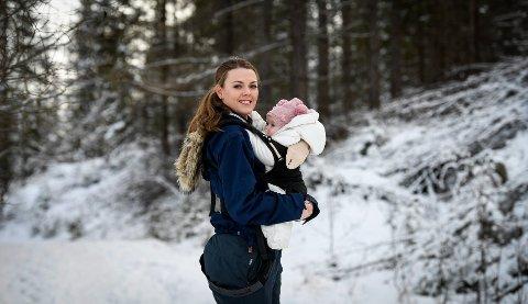 Angelina Andersen elsker å gå på tur. Hun håper at barna vil følge i hennes fotspor.