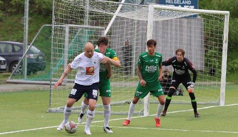 Tre scoringer: Stian Celius har slitt med skader denne sesongen, men var tilbake med tre scoringer mot Grand Bodø. Foto: Stian Forland
