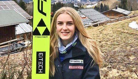 Frida Anny Maria Westman (20) er svensk landslagshopper. Nå er hun blitt medlem i IL Stålkameratene.