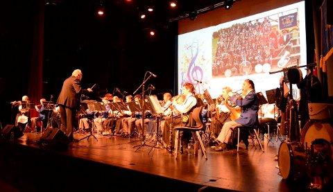 Hallingby skolekorps jubilerte med stor konsert.