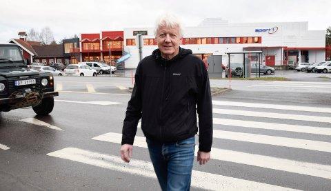 SNART I MÅL: Arnfinn Bakke har tro på at han og brødrene snart er i mål med etablering av Coop-butikk på Hvervenkastet.