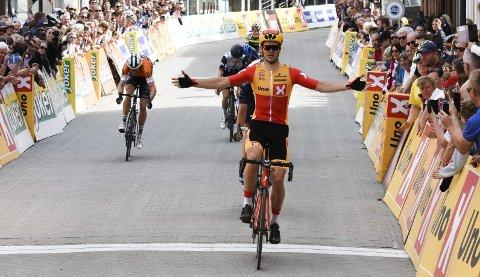 Tredje: Syver Wærsted (21) vant Ringerike GP, men måtte nøye seg med bronseplass i NM-innledningen i Sandefjord.