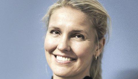 TRE NYTTÅRSØNSKER: Marit Sagen Gogstad, daglig leder i Sandefjord Næringsforening.