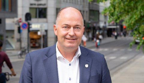 FORNØYD: – Kommuner og næringsliv i Vestfold har vært hardt rammet, men dette er en gladnyhet som kanskje hjelper litt på, sier Morten Stordalen, Stortingsrepresentant (FrP)