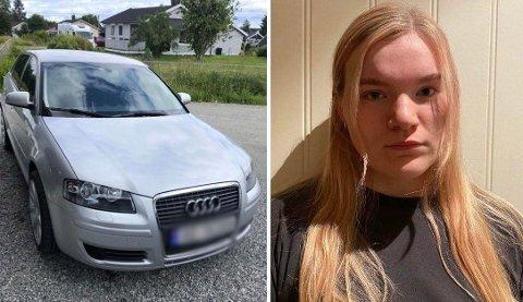 OPPGITT: Oda Arneberg er oppgitt over uærligheten etter at hennes parkerte bil ble ripet opp.