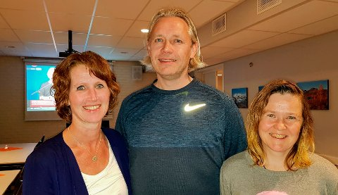 SKUFFET: Oddny Løwe, Einar Vaagland og Irene Røe Vaagan er de tre som representerer HalsaLista i Heim kommunestyre. Vaagland og Vaagan synes tirsdagens kommunestyre om mobbesaken ble en skuffende affære.