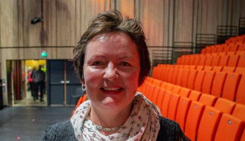 ARRANGEMENTSPAUSE:Leder Mariann Torsvik i Kulturverket Flammen har fått uventet god tid til å dyrke kreative tanker og planlegge framtida for kulturhuset.