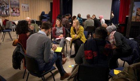 BORGERPANEL: Et panel på 20 uttrukne Kjelsås-beboere har møttes for å diskutere hvordan man kan redusere faren for oversvømmelser. På grunn av Korona er samlingene digitale