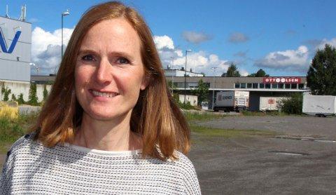 MILLIONSALG: Line Norbye kan presentere rekordresultat etter eiendomssalg i Oslo. (Foto: Kjell Aasum)