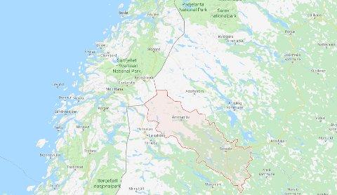 Ulven ble skutt utenfor Sorsele sør for Arjeplog.