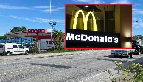 McDonalds har svart på Stig Otto Nilsens ønske om å få en restaurant i sine nye lokaler.