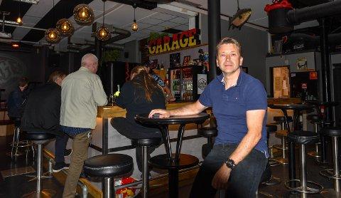 Henning Christensen er største eier, daglig leder og styreleder i selskapet bak Garage, Musikkhuset AS. (Arkiv)