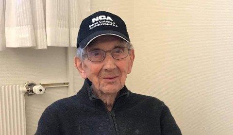 Veteran: Major Sverre Sølversen har bidratt med mye i sitt lange liv. Onsdag kveld gikk han bort, 98 år gammel.