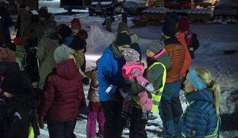 Det nye innslaget under Vinterfestivalen var populært. Hele 46 personer deltok.