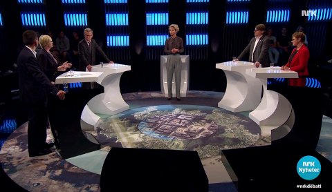 Det var få frå Sogn og Fjordane i debatten på NRK då Vestlandsregionen vart snakka om.