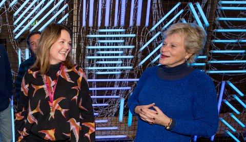 DEBUTANT: Når Monica Leander debuterer som produsent, har hun med seg en av landets fremste skuespillere, nemlig Anne Marie Ottersen.