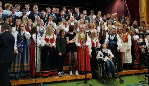 Skoleavslutning på Haugetun Folkehøyskole 13. mai  2018.