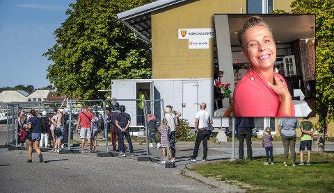 25 Fredrikstad-innbyggere fikk påvist covid-19 i uken som gikk. En av dem var Helga Aakre.