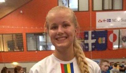 Pernille Remman vant finalen for Sapmi under Arctic Winter Games på Grønland.
