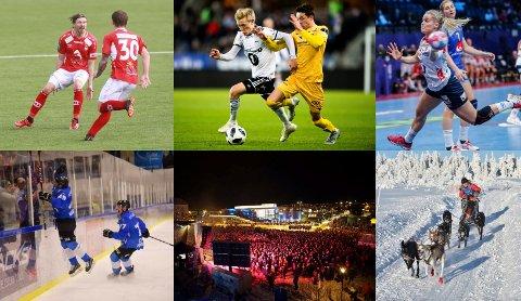 Minneverdig: Det har vært et innholdsrikt år i sportens verden.