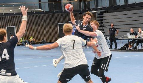 NYE MULIGHETER: Johannes Gurrich var Falks beste spiller i kampen mot Stavanger IF søndag.