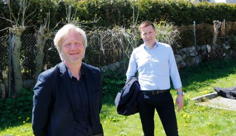 Ordfører Frode Fjeldsbø og kommunedirektør Pål Larsson har god grunn til å være fornøyde med hvordan Gjesdal hevder seg på det nyeste kommunebarometeret.