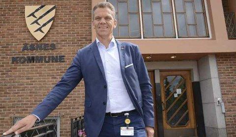 MILLIONER: Kommunedirektør Stein Halvorsen forteller at det mangler fem millioner kroner for å fortsette dagens drift ved Sønsterud bofellesskap ut 2020.