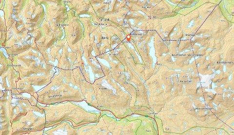 Veltdalshytta ligger i randsonen til Reinheimen nasjonalpark.