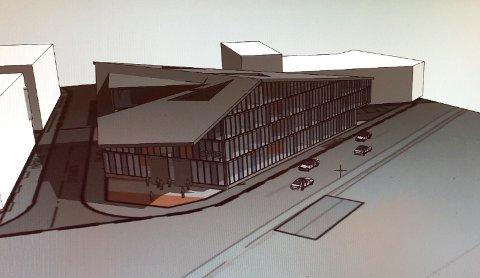 KONSERTHUS: Slik ser arkitektene for seg at det nye konserthuset kan bli senende ut, dersom prosjektet blir noe av.