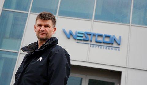 Konsernsjef Arne Birkeland i Westcon Group. Nå har verftet kjøpt seg opp i oppdrettsnæringen.