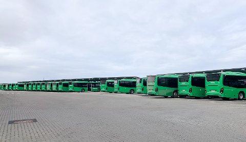 STREIK: Det kan bli stans i busstrafikken over hele landet.