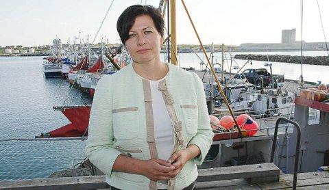 KRITISK: Helga Pedersen er mener forslaget er klassisk Høyre og Frp politikk, der de som har lite, får mindre.