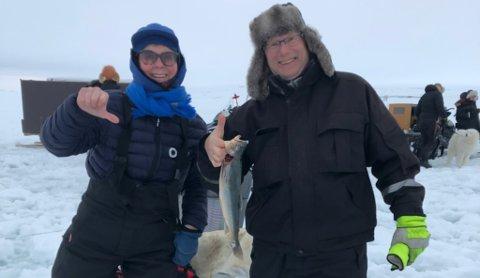 VINNEREN: Her er årets vinner Leif Birker Mäkinen (til h.) og kjæresten Aud Trosten (til v.) som vant i fjor.