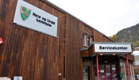 HENGER SEG PÅ: Nå blir det felles sentralbord for alle de tre kommunene i Numedal.