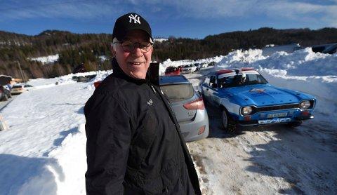 RALLYILDSJEL: Lørdag arrangerer Kjell Myhr og KNA Kongsberg nok et sprintrally i Vangestadmogen i Flesberg. FOTO: OLE JOHN HOSTVEDT