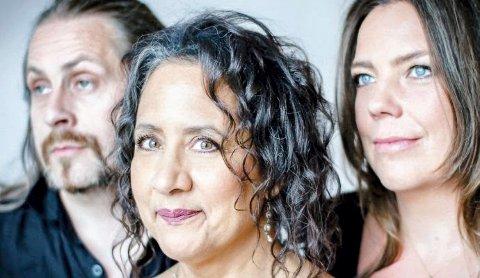 VARIERT LYDBILDE: Marilyn Mazur med Krister Jonsson og Josefine Cronholm kommer til sommerens jazzfestival.