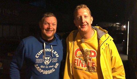 TV-INNSPILLING: Ken-Marek Vatnfjord ble overrasket av komiker og programleder Magnus Devold midt på natta. Devold spilte inn programmet «Slep meg på ferie» og lurte på om Vatnfjord kunne kjøre ham til nordover.