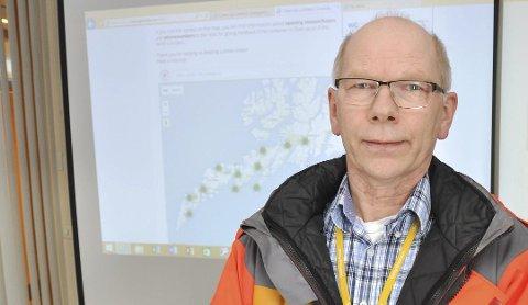 Byggeleder Jon-Roger Sørvang i Statens Vegvesen.