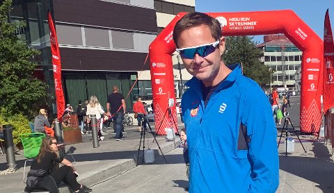 Daglig leder Sverre Benjaminsen i Tromsø Skyrace. Foto: Stian Saur