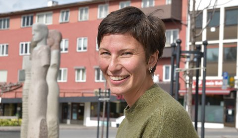 SKIFTER JOBB: Veldig glad i folk, friluftsliv og frivillighet; slik presenterer Trine Fjeldstad Kazemba seg selv.