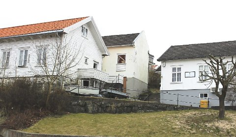 PLAN: Velhuset og gamle fengselet på Rådhusplassen ved Stathelle.