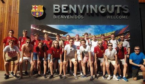 BARCELONA: Guttelaget til Bossmo & Ytteren IL imponerer i fotballturneringen Barcelona Summer Cup 2018.