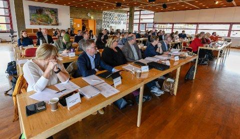 Rana kommune. Det nye kommunestyret er konstituert med Geir Waage og Anita Sollie i spissen.