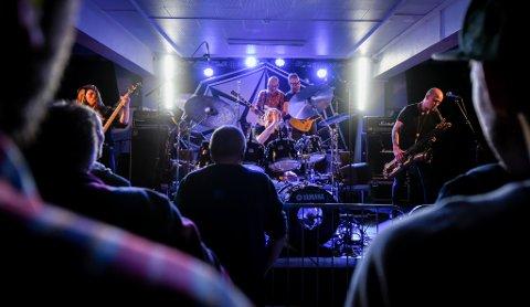 Ilddåp: BråK arrangerte åpningskonsert med Spidergawd på Kulturhuset Mo, Ranas nye konsertscene.