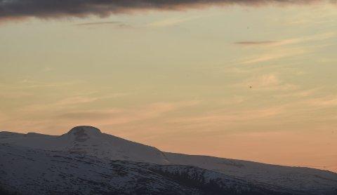Nøkkelbokstav nummer 4: Hva heter fjellet? Foto: Arne Forbord