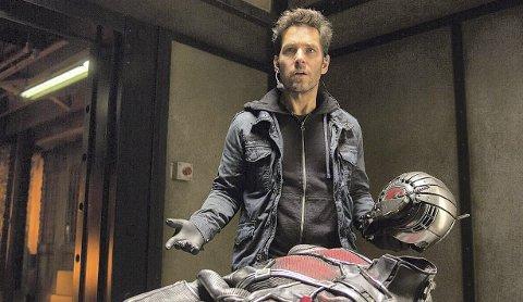 Ant-man: Paul Rudd er Maurmannen i denne superheltfilmen som føles familiær, og som glir fint inn i Marvel-universet.