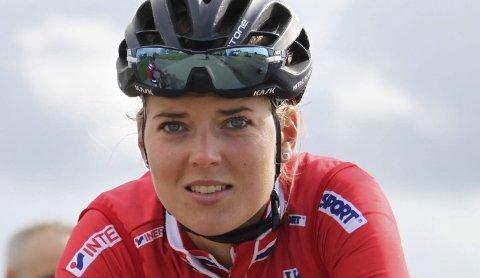 Sitt livs ritt: Thea Thorsen skal kjøre VM-tempo i Bergen i dag. Foto: Norges Cykleforbund