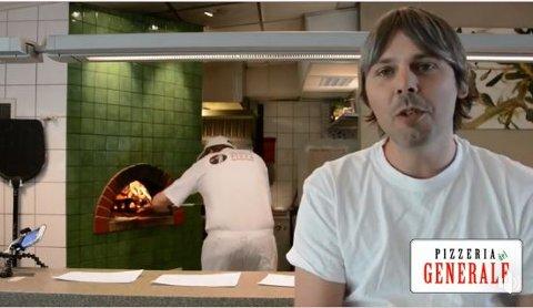 KROKEN PÅ DØRA: Jonas Gythfeldt forteller at Pizzeria del Generale og General Hotell legges ned 27. juni.